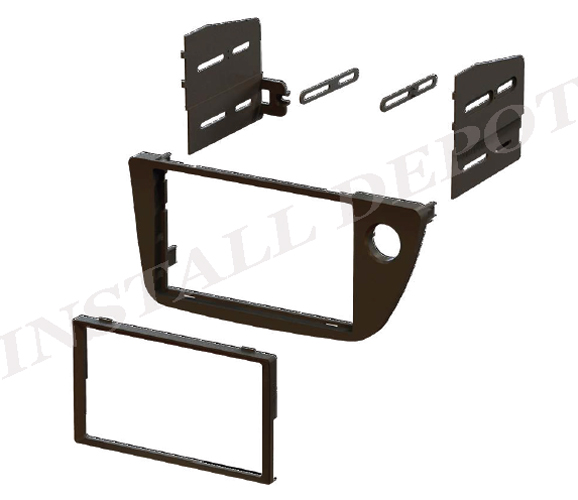 2002 2003 2004 2005 2006 Acura RSX Double Din Dash Kit For