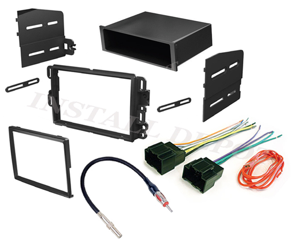 chevy gmc complete stereo installation dash kit wire. Black Bedroom Furniture Sets. Home Design Ideas